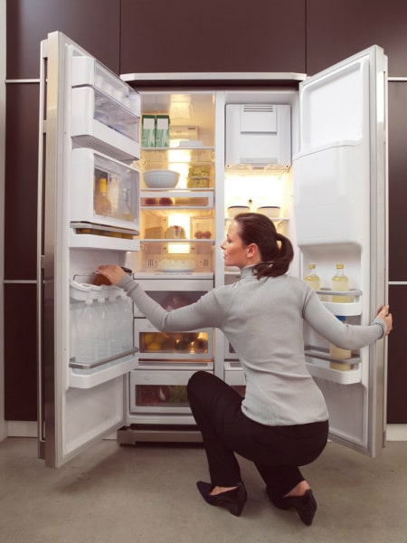 Ремонт двери холодильника